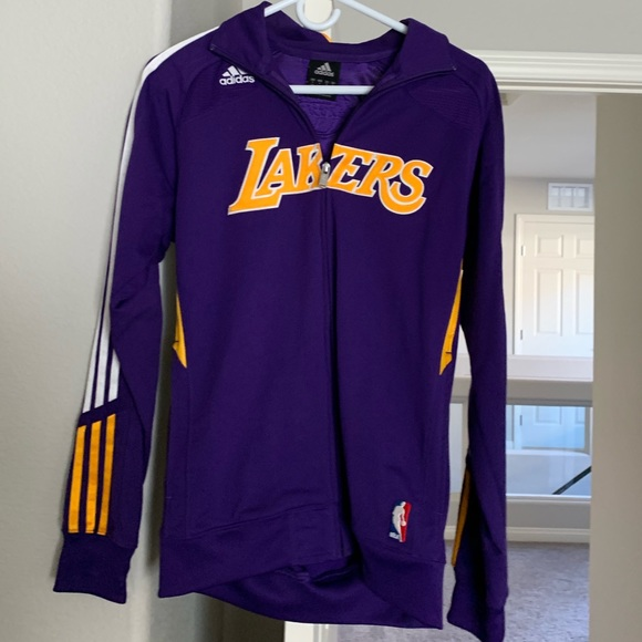 adidas Jackets & Blazers - Lakers Warmup Jacket